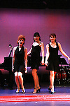 """Martina Vidmar, Leslie E. Hughes, Mary Lou Barber perform """"One Dress"""" at """"Union Women at Work: Inspiration In Motion"""" on March 5, 2012 at Theatre at Saint Peter's Church - Home of The York Theatre, New York City, New York which was """"sponsored by Actors' Equity Associations Eastern EEO Committee.  The event was an Equity event in celebration of Womens History Month.  (Photo by Sue Coflin/Max Photos) (Photo by Sue Coflin/Max Photos)"""