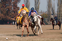 The first polo match for 61 years is held in Srinagar, Kashmir, India. © Fredrik Naumann/Felix Features