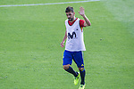David Villa during training of the spanish national football team in the city of football of Las Rozas in Madrid, Spain. August 30, 2017. (ALTERPHOTOS/Rodrigo Jimenez)