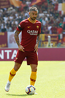 Roma's Aleksandar Kolarov in action during the Italian Serie A football match between Roma and Chievo Verona at Rome's Olympic stadium, September 16, 2018.<br /> UPDATE IMAGES PRESS/Riccardo De Luca