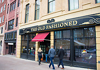 People dine at The Old Fashioned in downtown Madison, Wisconsin on Saturday, November 28, 2015