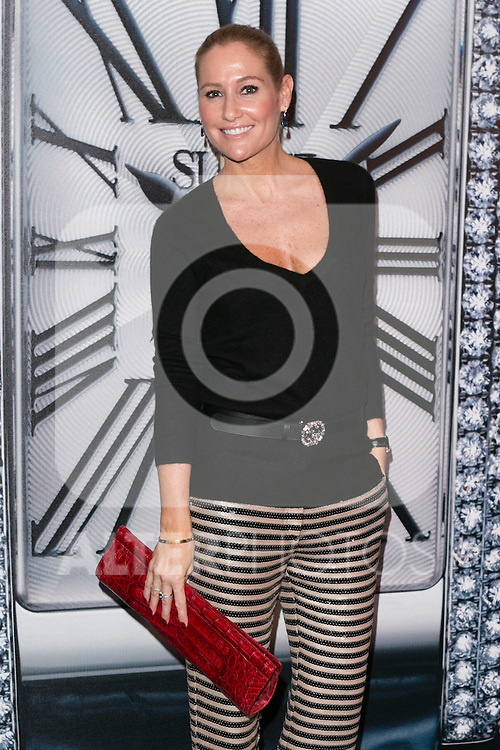 "Fiona Ferrer at the presentation of the first woman watch of Suarez Brand at ""La casa encendida"" in Madrid, Spain. October 15, 2014. (ALTERPHOTOS/Carlos Dafonte)"