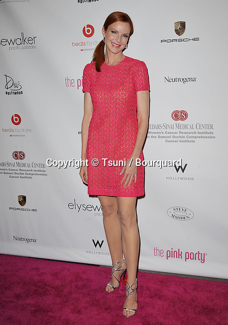 Marcia Cross<br /> 6th annual Pink Party at Drai's In Los Angeles.