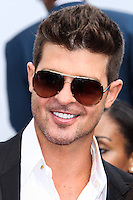 LOS ANGELES, CA - JUNE 30: Robin Thicke attends the 2013 BET Awards at Nokia Theatre L.A. Live on June 30, 2013 in Los Angeles, California. (Photo by Celebrity Monitor)