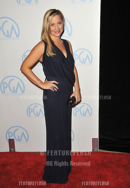 Jessica Capshaw at the 23rd Annual Producers Guild Awards at the Beverly Hilton Hotel..January 21, 2012  Los Angeles, CA.Picture: Paul Smith / Featureflash