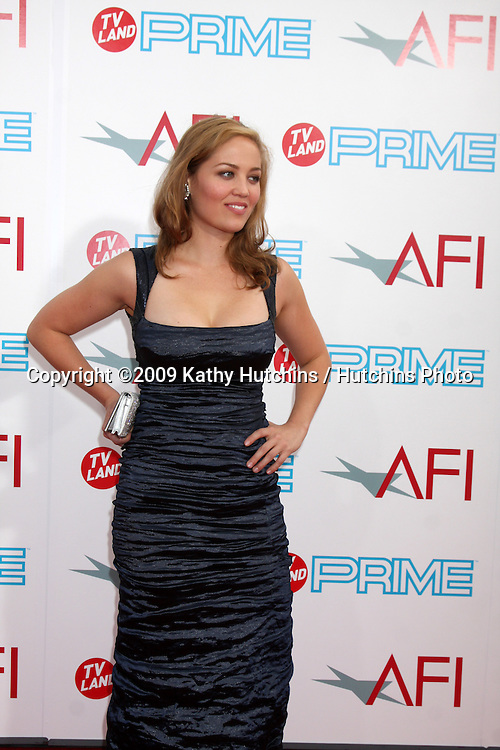 Erika Christensen   arriving at the AFI Life Achievement Awards honoring Michael Douglas  at Sony Studios, in  Culver City , CA on June 11, 2009.  The show airs ON TV LAND ON JULY 19, 2009 AT 9:00PM ET/PT..©2009 Kathy Hutchins / Hutchins Photo.