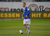Fabian Holland (SV Darmstadt 98) - 04.10.2019: SV Darmstadt 98 vs. Karlsruher SC, Stadion am Boellenfalltor, 2. Bundesliga<br /> <br /> DISCLAIMER: <br /> DFL regulations prohibit any use of photographs as image sequences and/or quasi-video.