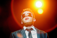 LOS ANGELES,CA - AUGUST 07,2008: Jesse McCartney in concert August 7, 2008 at the Orpheum Theatre in Downtown Los Angeles.