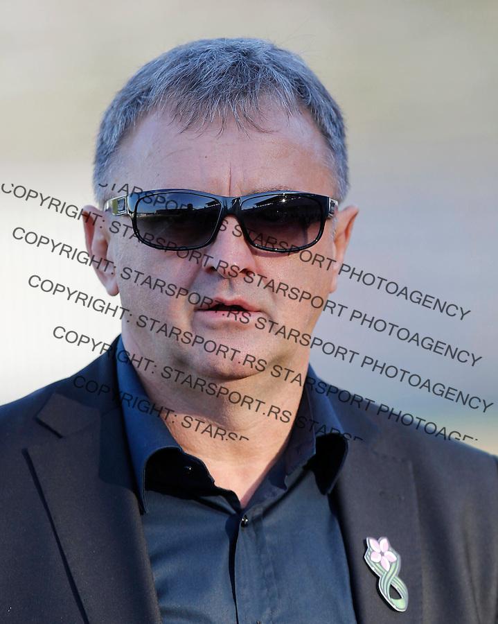 Fudbal Super liga season 2013-2014<br /> Ofk Beograd v Jagodina<br /> Head coach Zlatko Krmpotic<br /> Beograd, 09.11.2013.<br /> foto: Srdjan Stevanovic/Starsportphoto &copy;
