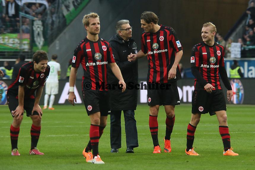Enttaeuschung bei Eintracht Frankfurt - Eintracht Frankfurt vs. SV Werder Bremen