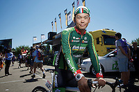 Yukiya Arashiro (JAP/Europcar)<br /> <br /> 2014 Tour de France<br /> stage 12: Bourg-en-Bresse - Saint-Eti&egrave;nne (185km)