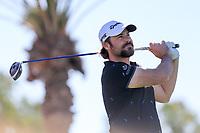 Victor Dubuisson (FRA) during the 2nd round of the Abu Dhabi HSBC Championship, Abu Dhabi Golf Club, Abu Dhabi,  United Arab Emirates. 17/01/2020<br /> Picture: Fran Caffrey   Golffile<br /> <br /> <br /> All photo usage must carry mandatory copyright credit (© Golffile   Fran Caffrey)