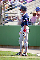 Boston Red Sox John Flaherty during spring training circa 1992 at Chain of Lakes Park in Winter Haven, Florida.  (MJA/Four Seam Images)