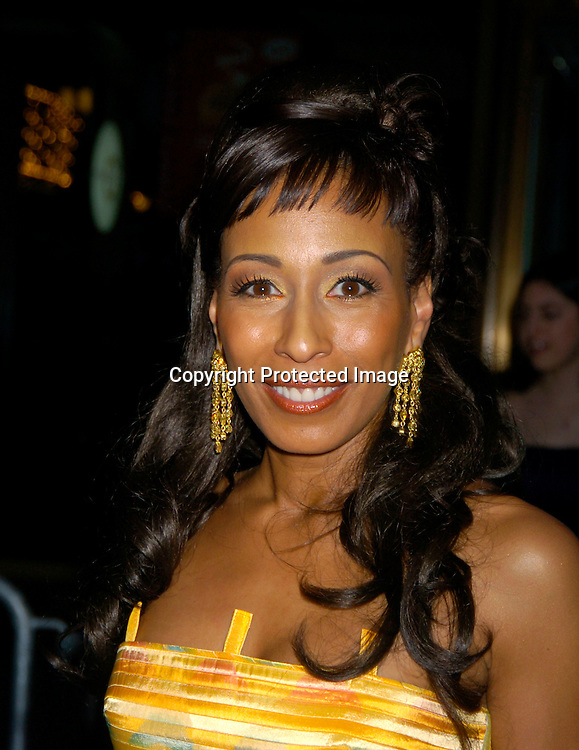 Tamara Tunie ..arriving at the Daytime Emmy Awards on May 21, 2004 at the Sheraton and at Radio City Music Hall...Photo by Robin Platzer, Twin Images