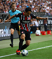 Makoto Hasebe (Eintracht Frankfurt) - 01.09.2019: Eintracht Frankfurt vs. Fortuna Düsseldorf, Commerzbank Arena, 3. Spieltag<br /> DISCLAIMER: DFL regulations prohibit any use of photographs as image sequences and/or quasi-video.