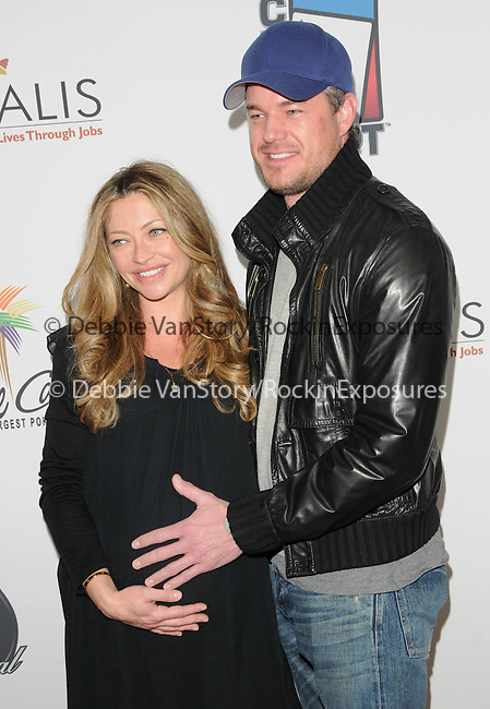 Eric Dane & Rebecca Gayheart at The World Poker Tour Celebrity Invitational Tournament held at The Commerce Casino in The City of Commerce, California on February 20,2010                                                                   Copyright 2010  DVS / RockinExposures