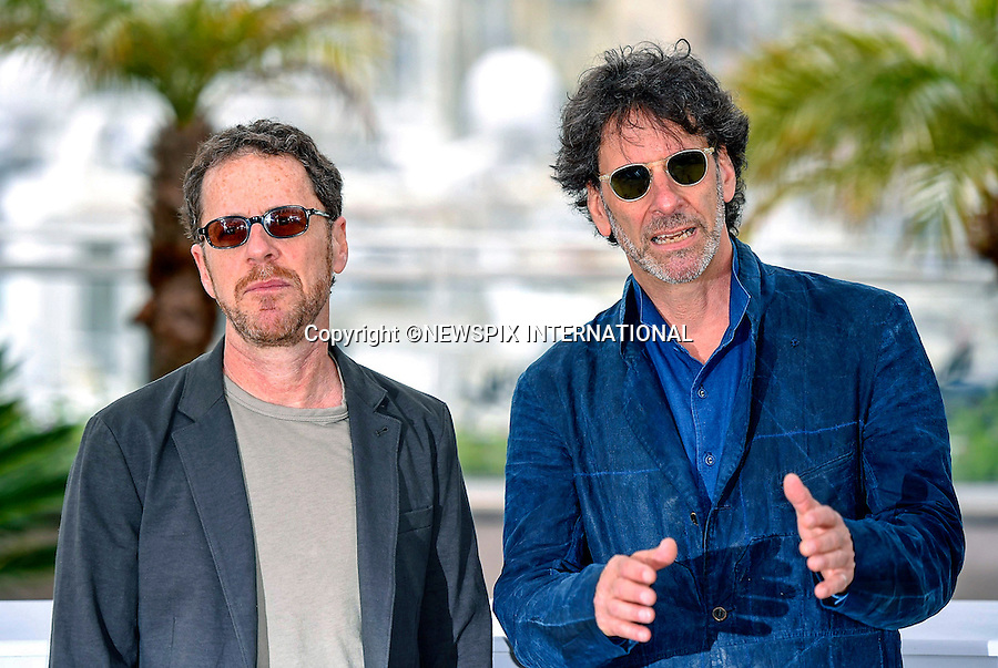 13.05.2015; Cannes France: JOEL AND ETHAN COEN<br /> attend the International Jury photocall at the 68th Cannes Film Festival.<br /> Mandatory Credit Photo: &copy;Franck Castel/NEWSPIX INTERNATIONAL<br /> <br /> **ALL FEES PAYABLE TO: &quot;NEWSPIX INTERNATIONAL&quot;**<br /> <br /> PHOTO CREDIT MANDATORY!!: NEWSPIX INTERNATIONAL(Failure to credit will incur a surcharge of 100% of reproduction fees)<br /> <br /> IMMEDIATE CONFIRMATION OF USAGE REQUIRED:<br /> Newspix International, 31 Chinnery Hill, Bishop's Stortford, ENGLAND CM23 3PS<br /> Tel:+441279 324672  ; Fax: +441279656877<br /> Mobile:  0777568 1153<br /> e-mail: info@newspixinternational.co.uk