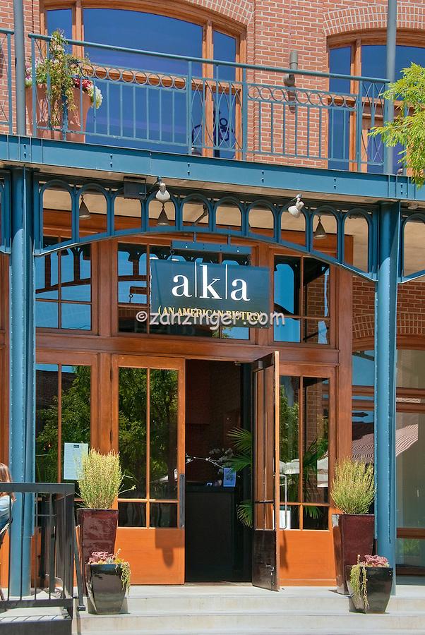 AKA American Bistro, Restaurant, Pasadena, CA, Old Town,  Exterior, Vertical , pictures of front door entrances