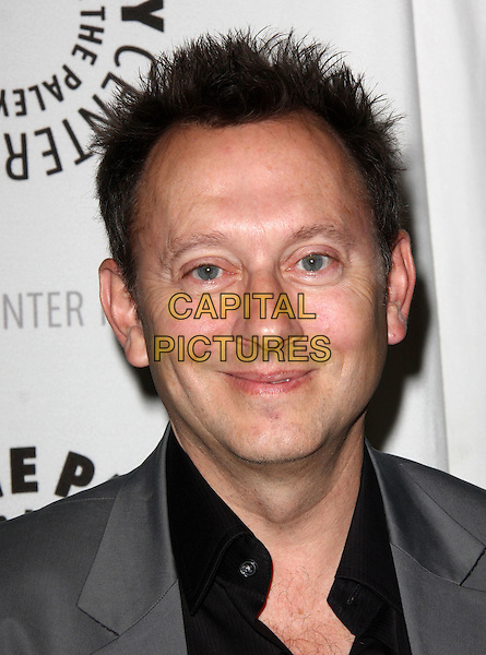 MICHAEL EMERSON .27th Annual PaleyFest Presents the television show 'Lost' held At The Saban Theatre, Beverly Hills, California, USA, 27th February 2010..arrivals portrait headshot grey gray black smiling .CAP/ADM/KB.©Kevan Brooks/Admedia/Capital Pictures