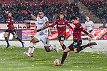 10.03.2019, HDI Arena, Hannover, GER, 1.FBL, Hannover 96 vs Bayer 04 Leverkusen<br /> <br /> DFL REGULATIONS PROHIBIT ANY USE OF PHOTOGRAPHS AS IMAGE SEQUENCES AND/OR QUASI-VIDEO.<br /> <br /> im Bild / picture shows<br /> Hendrik Weydandt (Hannover 96 #26), <br /> <br /> Foto &copy; nordphoto / Ewert