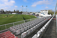General view of the ground during Essex CCC vs Durham MCCU, English MCC University Match Cricket at The Cloudfm County Ground on 2nd April 2017