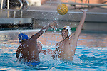 LOS ANGELES, CA - DECEMBER 03:  Matteo Morelli (17) of the University of Southern California defends the ball during the Division I Men's Water Polo Championship held at the Uytengsu Aquatics Center on the University of Southern California campus on December 3, 2017 in Los Angeles, California. UCLA defeated USC 5-7 to win the National Championship. (Photo by Justin Tafoya/NCAA Photos via Getty Images)