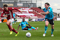 Fleetwood Town's Aiden O'Neill breaks<br /> <br /> Photographer Andrew Kearns/CameraSport<br /> <br /> The EFL Sky Bet League One - Northampton Town v Fleetwood Town - Saturday August 12th 2017 - Sixfields Stadium - Northampton<br /> <br /> World Copyright &copy; 2017 CameraSport. All rights reserved. 43 Linden Ave. Countesthorpe. Leicester. England. LE8 5PG - Tel: +44 (0) 116 277 4147 - admin@camerasport.com - www.camerasport.com