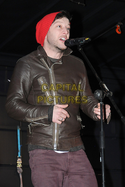 BASILDON, ESSEX, ENGLAND, November 16: Matt Cardle Performs Live On Stage Ahead Of Switching On The Christmas Lights In Basildon, Essex, UK 16th November 2013.<br /> CAP/BRC<br /> &copy;Ben Rector/Capital Pictures