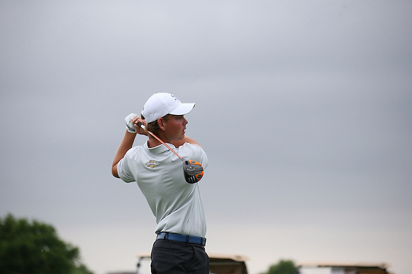 McKINNY, TX - APRIL 22:  Southland Conference Men's Golf Championship at Stonebridge Ranch Country Club in McKinny on April 22, 2015 in McKinny, Texas.  (Photo by Rick Yeatts)