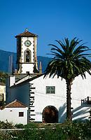 Spanien, Kanarische Inseln, La Palma, Iglesia San Blas in Mazo