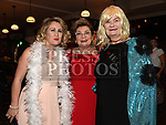 Avril Carroll, Gay Soden, and Mary Fitzsimons at the Oscars fancy dress party in Watters of Collonin aid of the Gary Kelly Cancer Support Centre.  Photo:Colin Bell/pressphotos.ie