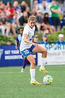 Allston, MA - Sunday July 31, 2016: Louise Schillgard during a regular season National Women's Soccer League (NWSL) match between the Boston Breakers and the Orlando Pride at Jordan Field.