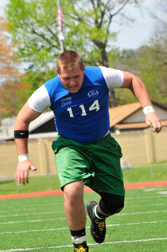 2009 All-American College Football Skills Academy, Charleston, WV. April 18, 2009 (©J.Lee Photography, LLC)