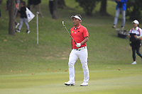 Thongchai Jaidee (THA) on the 6th fairway during Round 4 of the UBS Hong Kong Open, at Hong Kong golf club, Fanling, Hong Kong. 26/11/2017<br /> Picture: Golffile | Thos Caffrey<br /> <br /> <br /> All photo usage must carry mandatory copyright credit     (&copy; Golffile | Thos Caffrey)