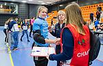 ROTTERDAM  - NK Zaalhockey .Kampong D1-Den Bosch D1 dames voor brons.dopingcontrole, doping,    COPYRIGHT KOEN SUYK