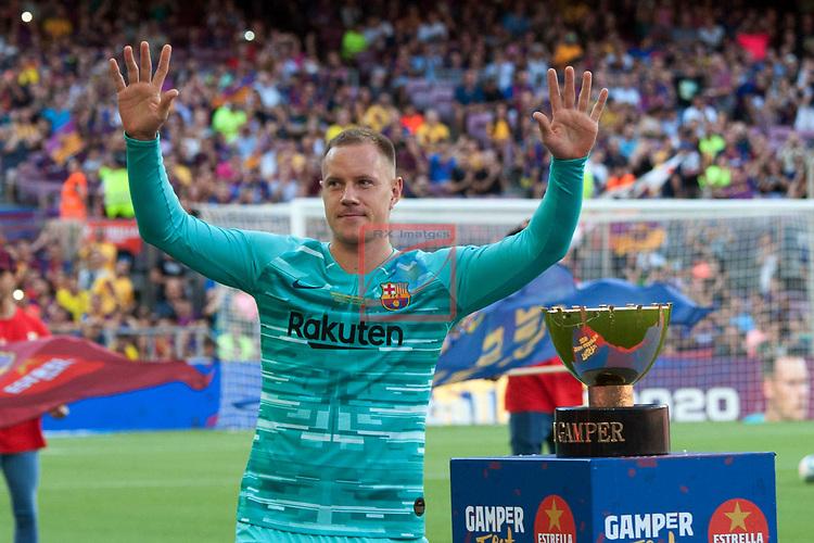 Presentation 1st team FC Barcelona 2019/2020.<br /> Marc-Andre Ter Stegen.