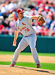 14 March 2010: St. Louis Cardinals' pitcher Adam Ottavino on the mound during a Spring Training game against the Washington Nationals at Space Coast Stadium in Viera, Florida. The Cardinals defeated the Nationals 7-3 in Grapefruit League action. Mandatory Credit: Ed Wolfstein Photo