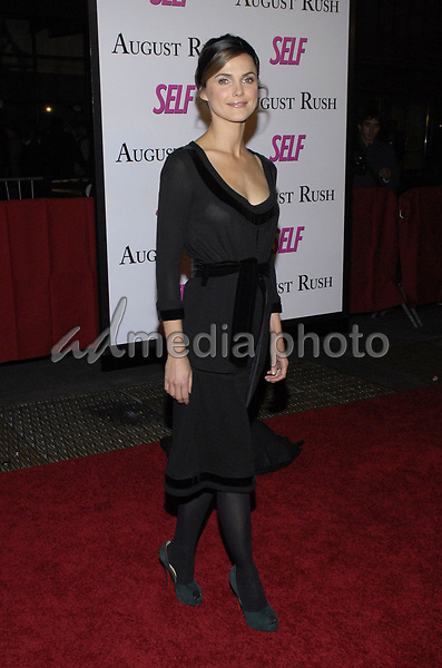 """11 November 2007 - New York, New York - Keri Russell. The New York premiere of Warne Bros. Pictures' """"August Rush"""" held at  the Ziegfeld Theater.  Photo Credit: Bill Lyons/AdMedia *** Local Caption ***"""