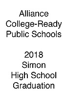 Alliance 2018 Simon HS Graduation
