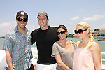 Tom Pelphrey, Tom Degnan, Jessica Leccia, Bree Williamson at the Cruisin' & Schmoozin' with the Stars on the Marco Island Princess sightseeing tour of beautiful Marco Island, watching the dolphins, autographs, photos, auctions & a buffet luncheon on May 15 Marco Island, Florida - SWFL Soapfest Charity Weekend May 14 & !5, 2011 benefitting several children's charities including the Eimerman Center providing educational & outreach services for children for autism. see www.autismspeaks.org. (Photo by Sue Coflin/Max Photos)