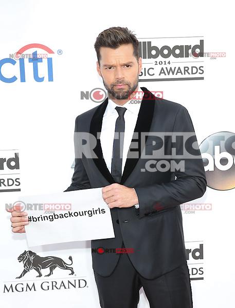 LAS VEGAS, NV - May 18 :Ricky Martin  pictured at 2014 Billboard Music Awards at MGM Grand in Las Vegas, NV on May 18, 2014. ©EK/Starlitepics