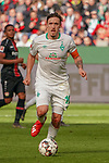 17.03.2019, BayArena, Leverkusen, GER, 1. FBL, Bayer 04 Leverkusen vs. SV Werder Bremen,<br />  <br /> DFL regulations prohibit any use of photographs as image sequences and/or quasi-video<br /> <br /> im Bild / picture shows: <br /> Max Kruse (Werder Bremen #10), Einzelaktion, Ganzkörper / Ganzkoerper,  <br /> <br /> Foto © nordphoto / Meuter