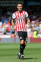 Josh McEachran of Brentford during Brentford vs Rotherham United, Sky Bet EFL Championship Football at Griffin Park on 4th August 2018