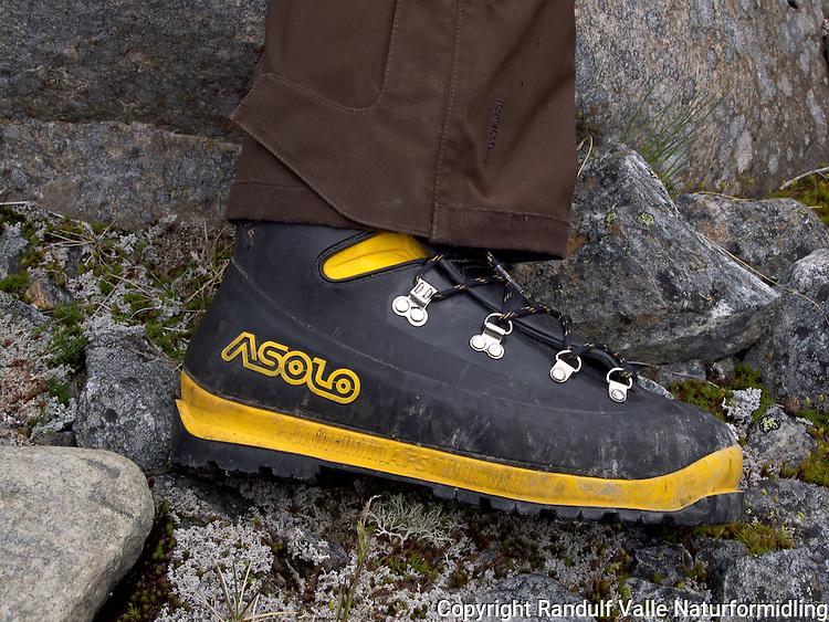 Asolo fjellsko. ---- Asolo climbing boots.