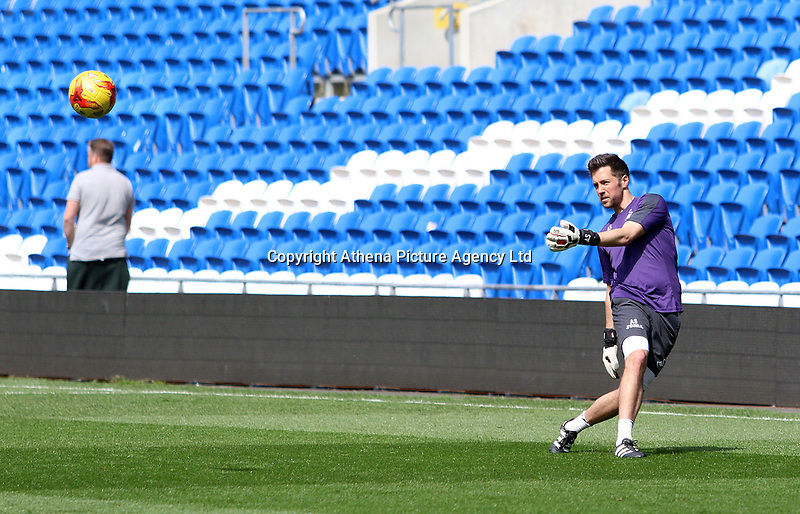 Andrew Sparkes during FAW Youth Cup match between Swansea City and Cambrian and Clydach at The Cardiff City Stadium, Cardiff, Wales, UK. Sunday 23 April 2017