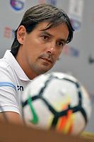 Simone Inzaghi Lazio <br /> Roma 12-08-2017 Stadio Olimpico <br /> Conferenza Stampa Supercoppa Italiana 2017/2018 <br /> Press Conference Italian Super Cup <br /> Foto Andrea Staccioli Insidefoto
