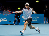 Tomas Berdych (CZE) (6) against Novak Djokovic (SRB) (3) in a Group A match. Novak Djokovic beat Tomas Berdych 6-3 6-3..International Tennis - Barclays ATP World Tour Finals - O2 Arena - London - Day 2 - Mon 22 Nov 2010..© Frey - AMN Images, Level 1, Barry House, 20-22 Worple Road, London, SW19 4DH.Tel - +44 208 947 0100.Email - Mfrey@advantagemedianet.com.Web - www.amnimages.photshelter.com