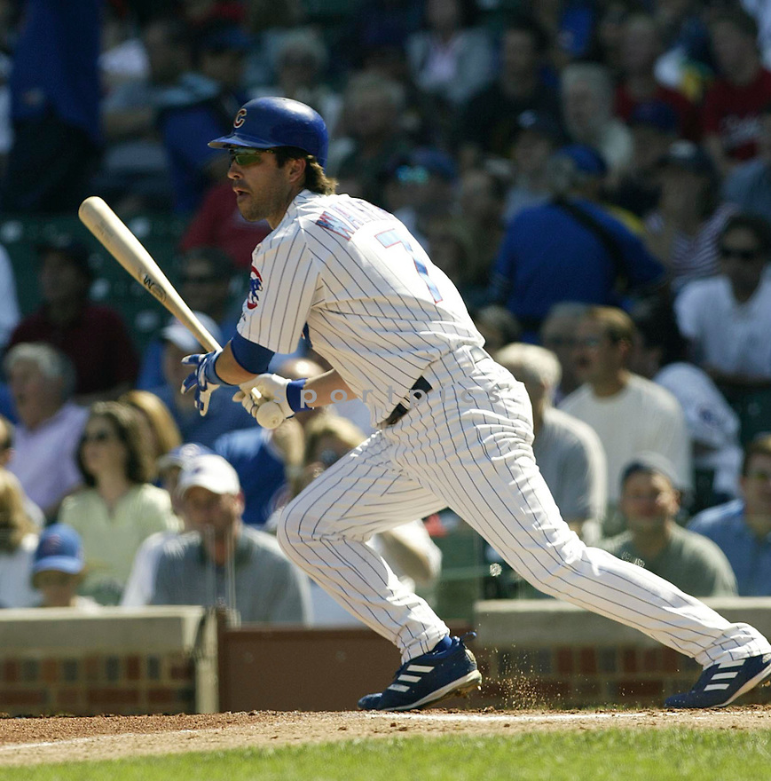 Todd Walker during the Cubs v. Marlins game on September 10, 2004..Kevin Tanaka / SportPics