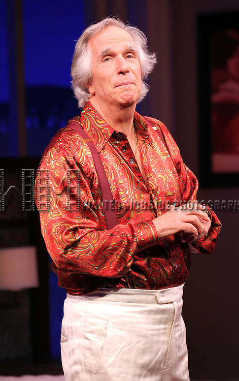 Henry Winkler during the Broadway Opening Night Performance Curtain Call for 'The Performers' at the Longacre Theatre in New York City on 11/14/2012