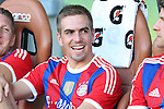 06 August 2014: Bayern Munich's Philipp Lahm (GER). The Major League Soccer All-Stars played Bayern Munich of the German Bundesliga at Providence Park in Portland, Oregon in the 2014 MLS All-Star Game. The MLS All-Stars won the game 2-1.